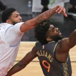 Anthony Davis has 37 points to lead Lakers' defeat of Bulls