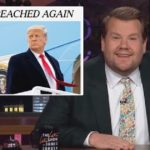 Late-night TV has a field day with second Trump impeachment