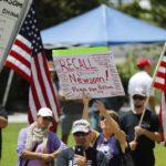 Recall Newsom effort has QAnon, anti-vaxxer extremist ties