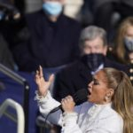 Jennifer Lopez says 'Let's Get Loud' on inauguration day 2021