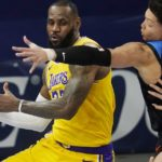 LeBron James continues to lead Lakers' road dominance in rout over Thunder