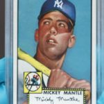 Mickey Mantle rookie card sells for a record $5.2 million