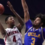 UCLA hangs on for win at Arizona, improves to 5-0 in Pac-12