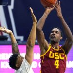 Mobley brothers split heavy lifting to rescue USC from UC Riverside upset