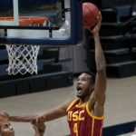 Evan Mobley's career-best 25 points lead USC to win over Cal