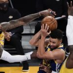 Lakers can't hold back Golden State Warriors surge in loss