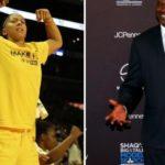 Candace Parker teaches Shaq about modern basketball