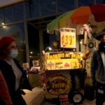 Fruit cart as art gallery? It's how Francisco Palomares paints