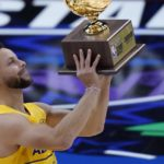 Warriors' Stephen Curry wins NBA All-Star 3-point contest