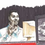 Rodney King trial art acquired by Library of Congress