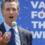 Did Newsom's California COVID vaccine lottery boost doses?